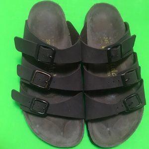 Birkenstock Betula sz38/L 7  3 strap sandal